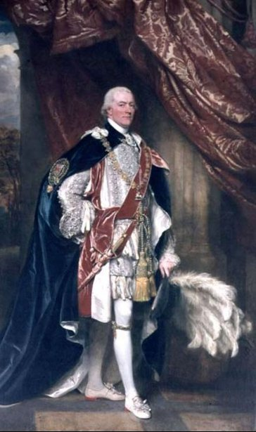 George John Spencer, 1st Lord Of The Admiralty In Garter Robes