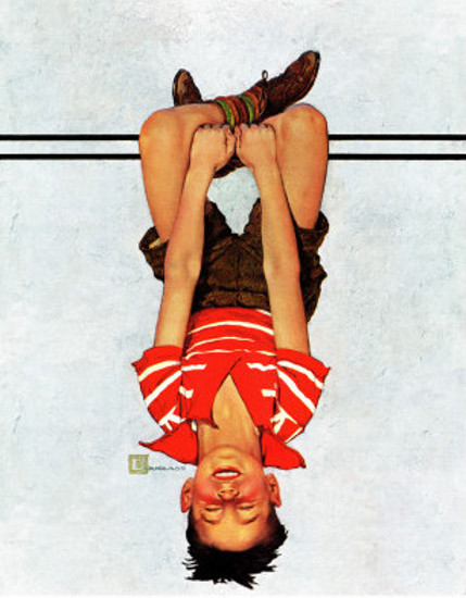 Hanging Upside Down