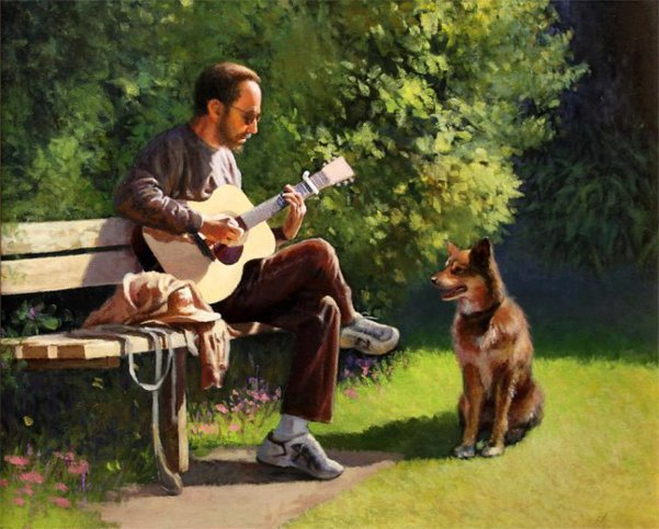 Musician And His Friend