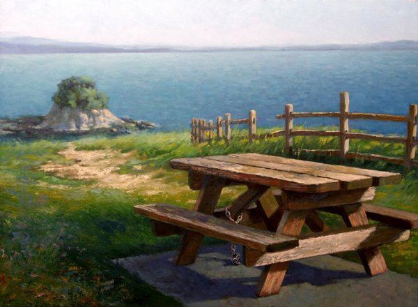 Picnic Table In China Camp