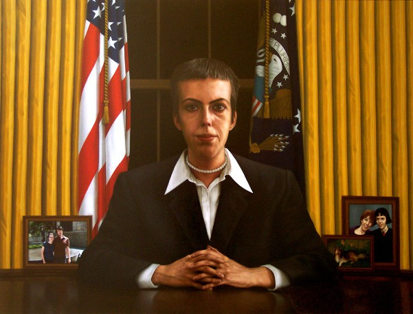 Portrait Of The Artist As President