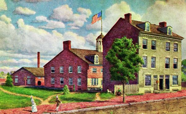 The Philadelphia Mint As It Believed To Have Appeared In 1792