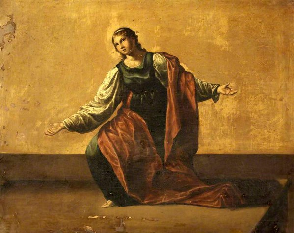 The Virgin In Adoration