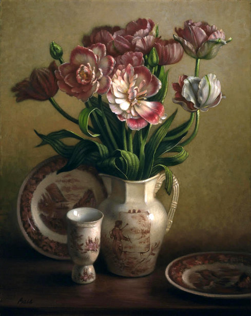 Tulips And Redware