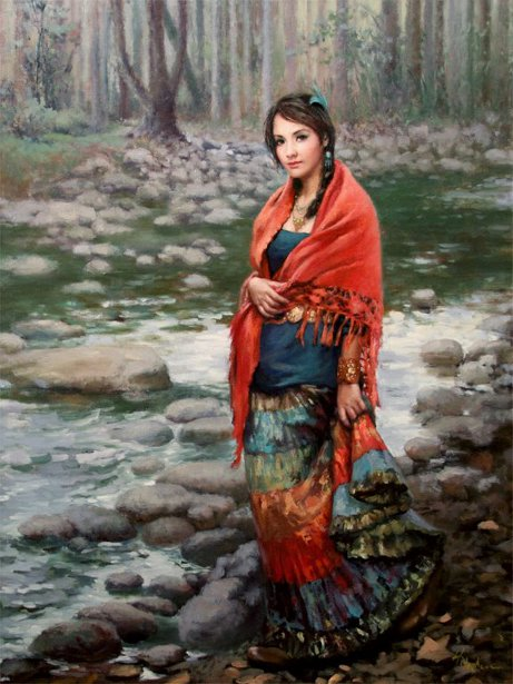 Young Gypsy Girl
