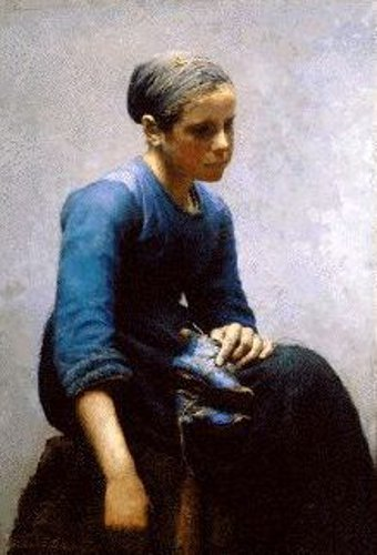 Young Woman, Concarneau