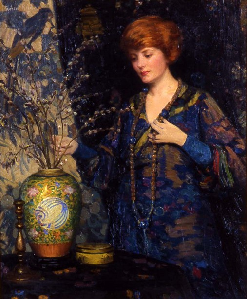 Girl With Chinese Vase
