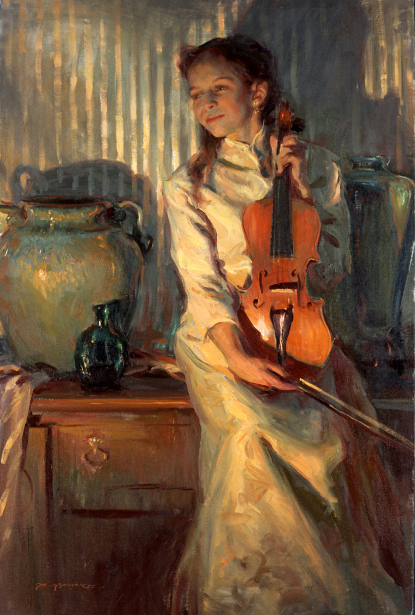 Her Mother's Violin