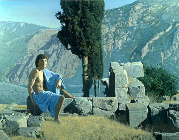 Shepherd In The Ruins Of Delphi (Et In Arcadia)
