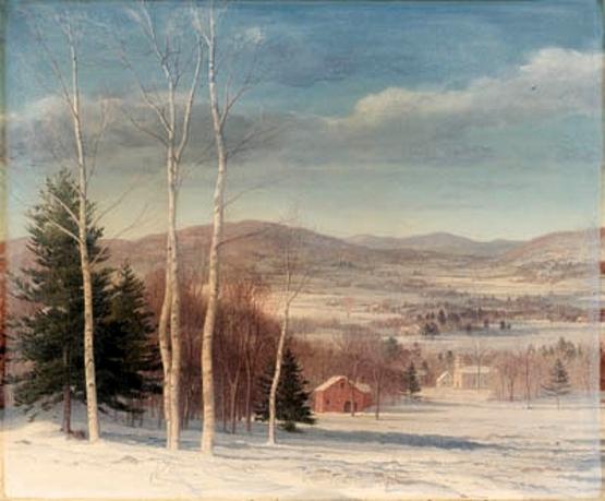 Snowclad Hills