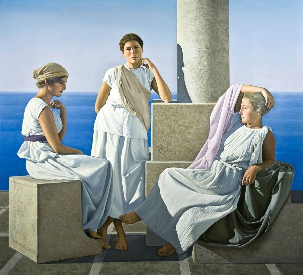 Three Grecian Women