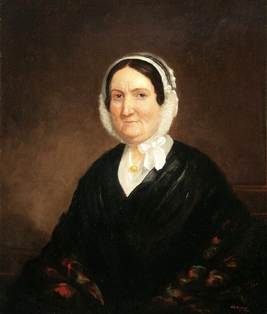 Woman In A White Bonnet