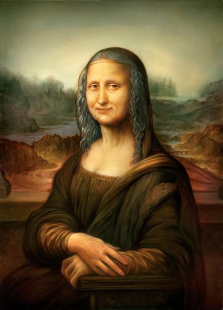 Aged Mona Lisa