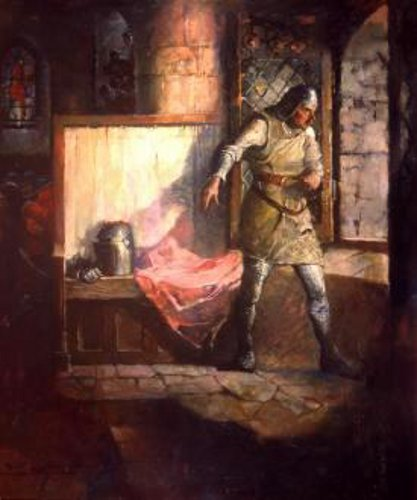 Ivanhoe - Sir Reginald Fond-deBoeuf And De Bracy At The Window