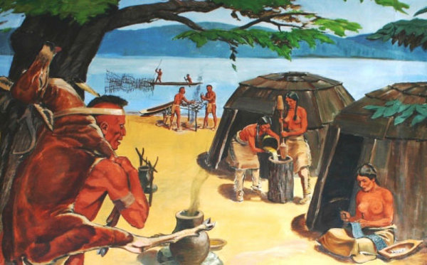 Setalcott Native American Village