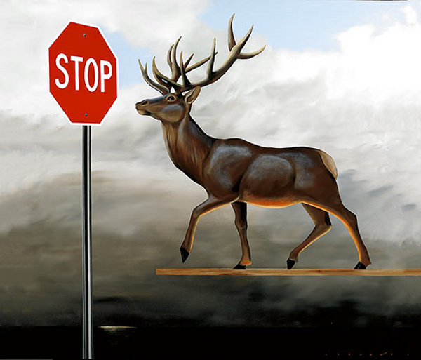 The Buck Stops Here (Elevated Buck)