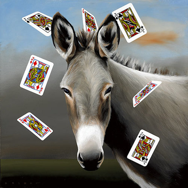 The Jack Ass (Playing Cards)