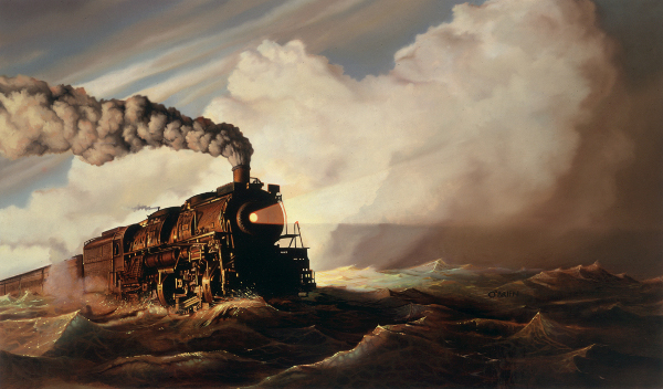 Train On The Ocean