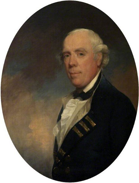 Admiral The Honourable Samuel Barrington