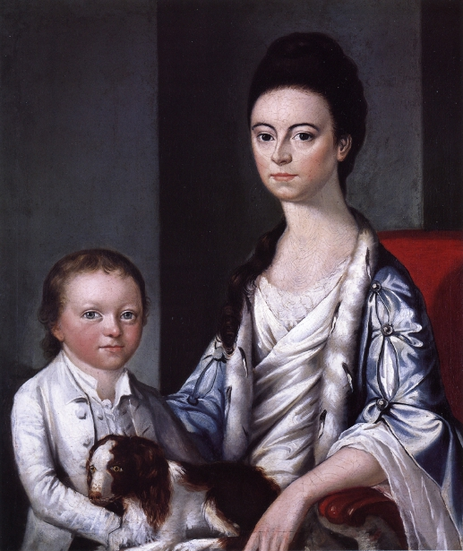 Christian Stelle Banister And Her Son, John