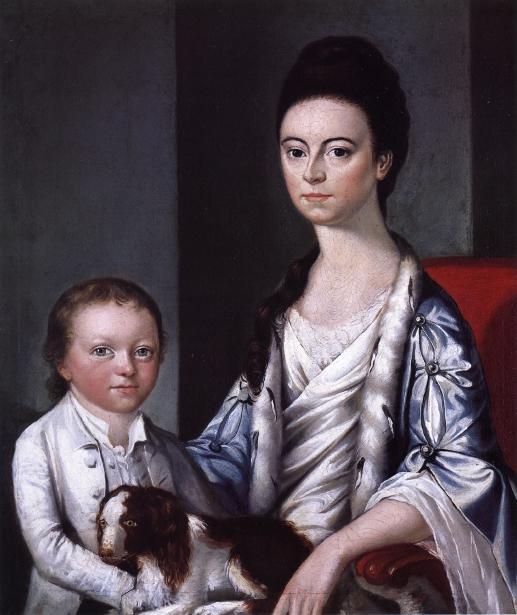 Christian Stelle Banister And Her Son, John