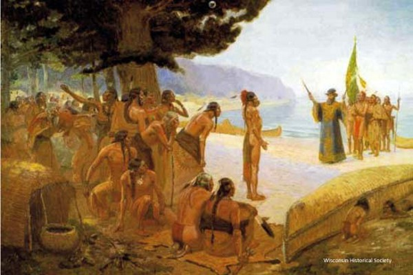 Jean Nicolet Meeting The Sea People