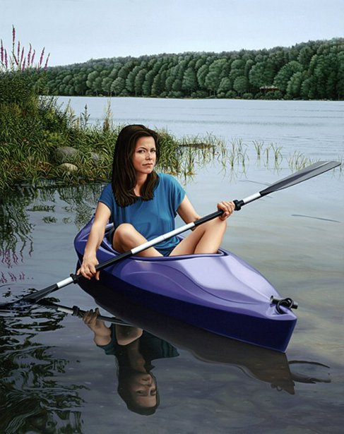 Joy With Kayak
