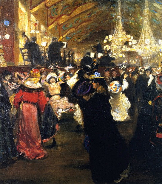 Le Bal au Moulin Rouge