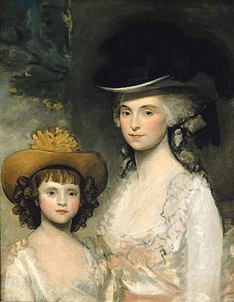 Mrs. Blades And Her Daughter