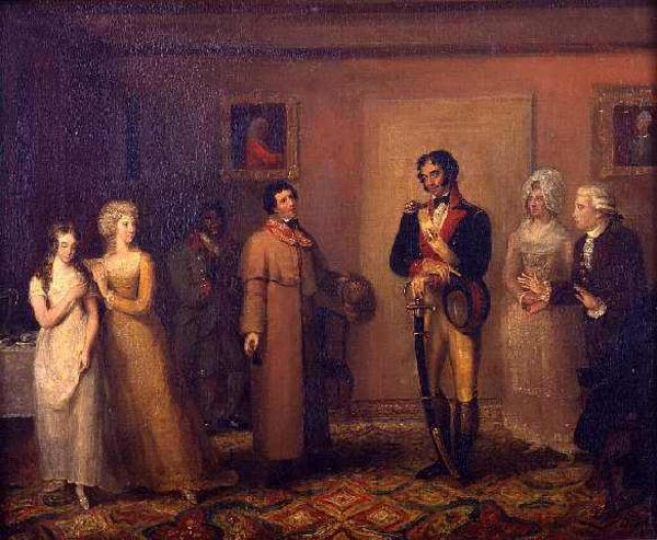 Scene from James Fenimore Cooper's The Spy