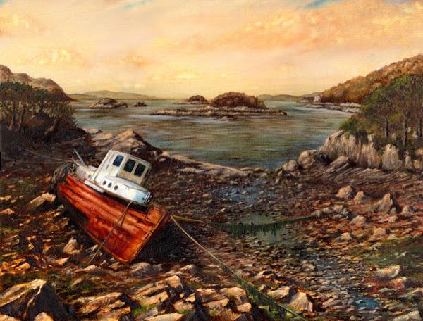 Shipwreck nr Arisaig