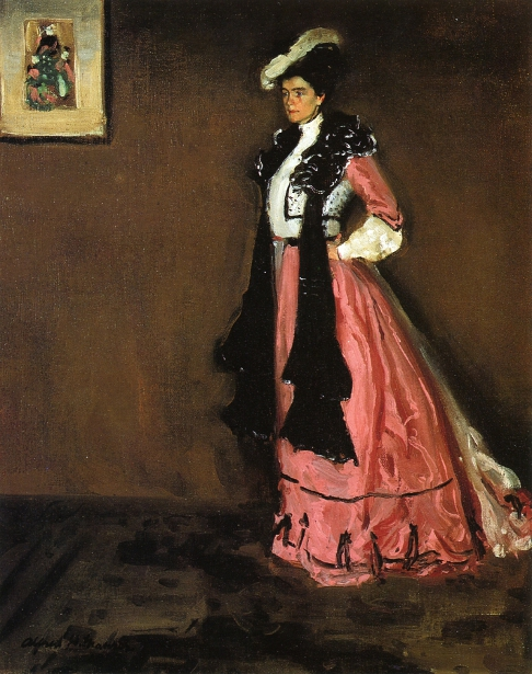 Woman In Pink (Roselle Fitzpatrick)