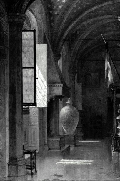 A Room In The Bargello, Florence