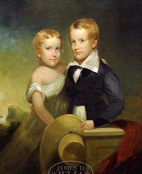 Aaron Burr Fenton And Sarah Ann Fenton
