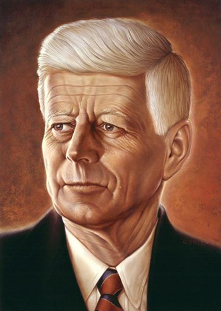 Aged John F. Kennedy