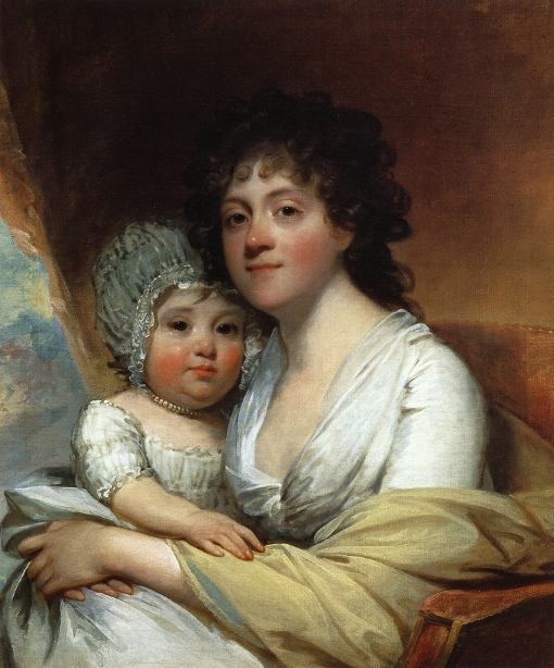 Elizabeth Corbin Griffin Gatliff And Her Daughter Elizabeth (Mrs. Samuel Gatliff)