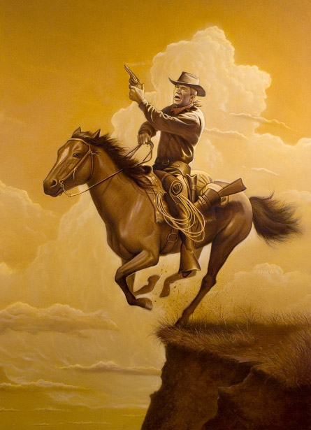 George W. Bush - Lone Rider