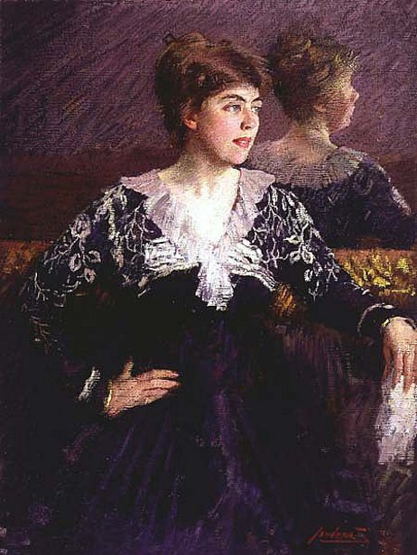 Gertrude, The Artist's Wife