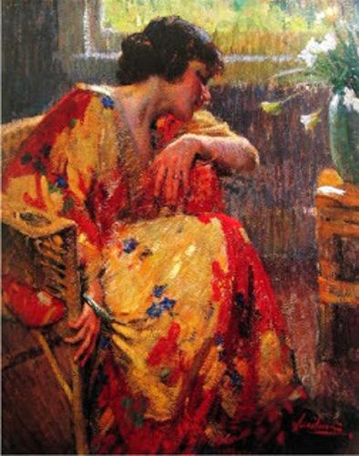 In Her Kimono