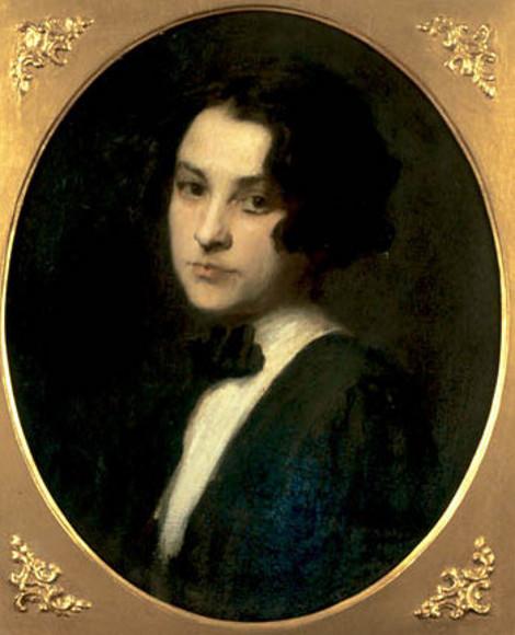 Young Georgia O'Keeffe