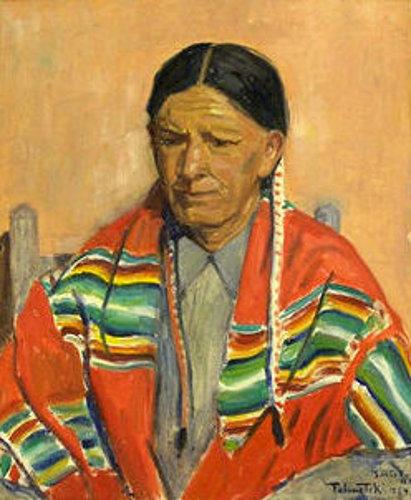 A Native American, Santa Fe