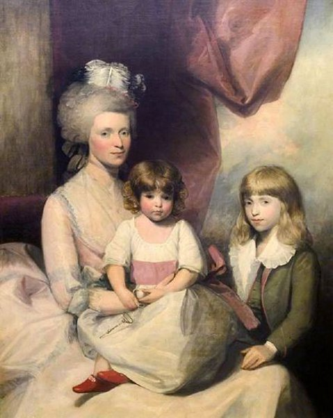 Elizabeth Stoughton Wolcott, Laura And Oliver