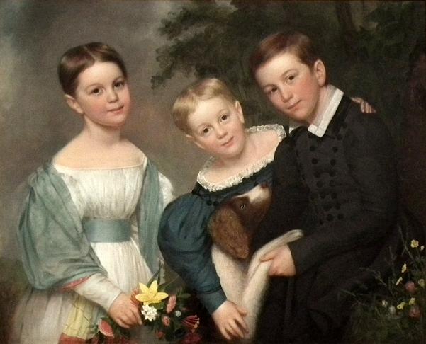 Ellen, Edward And Charles Dodge