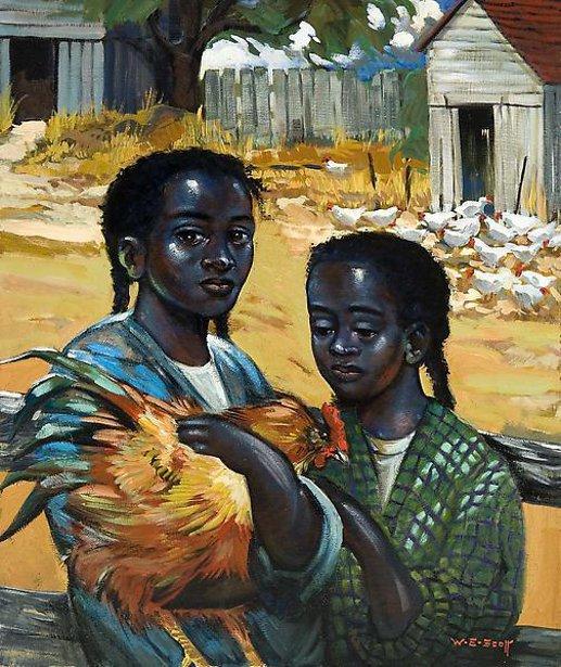 Girls With Chicken