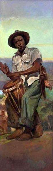 Haitian Drum Player