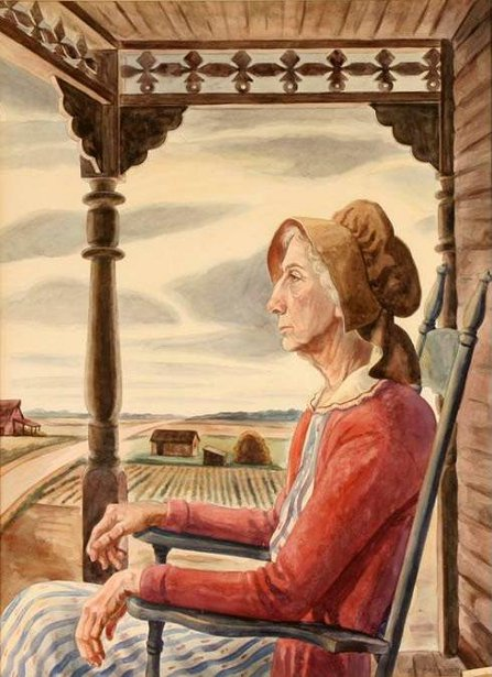 Marcelline Brucker (The Artist's Wife)