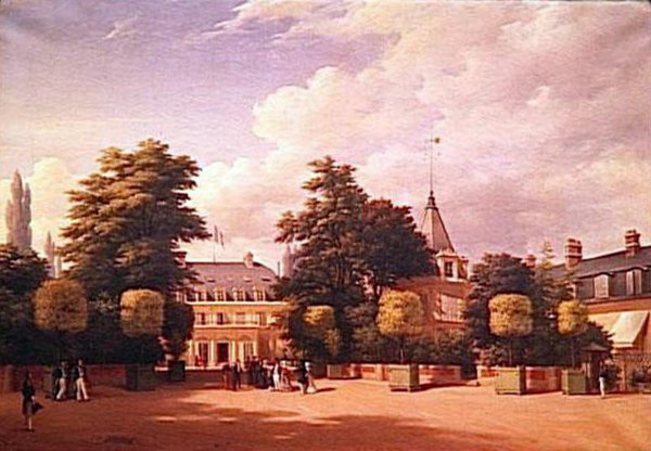 View Of Chateau de Neuilly
