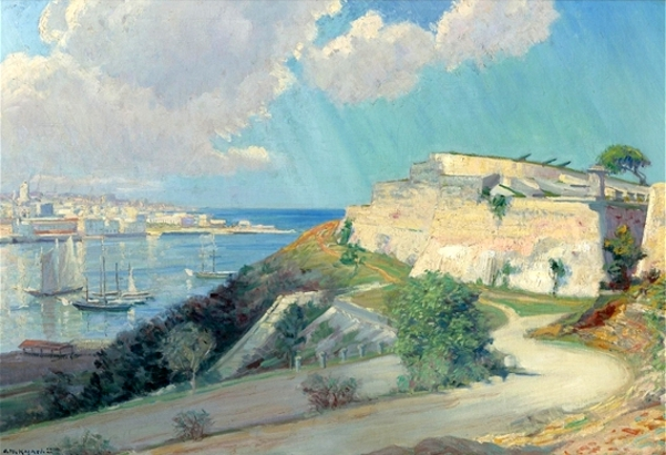 View Of Havana Harbor