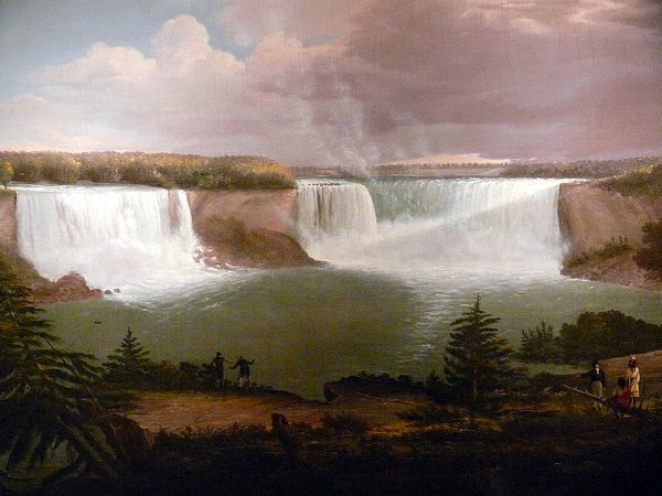 A General View Of The Falls Of The Niagara