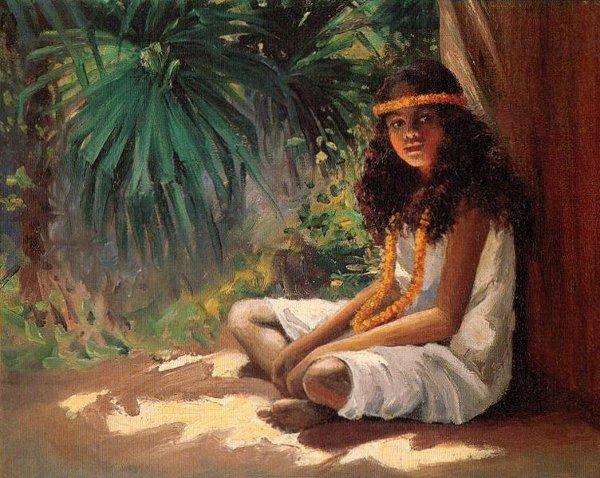 A Polynesian Girl